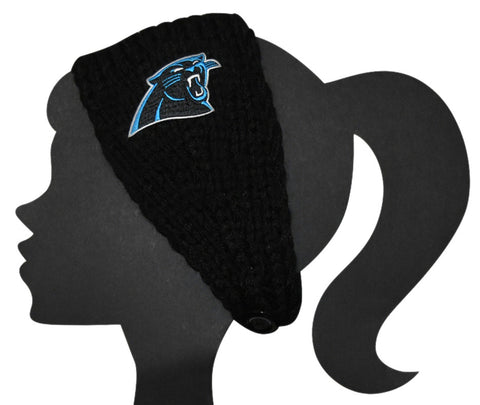Panthers Knit Headband - Peachy Keen Boutique