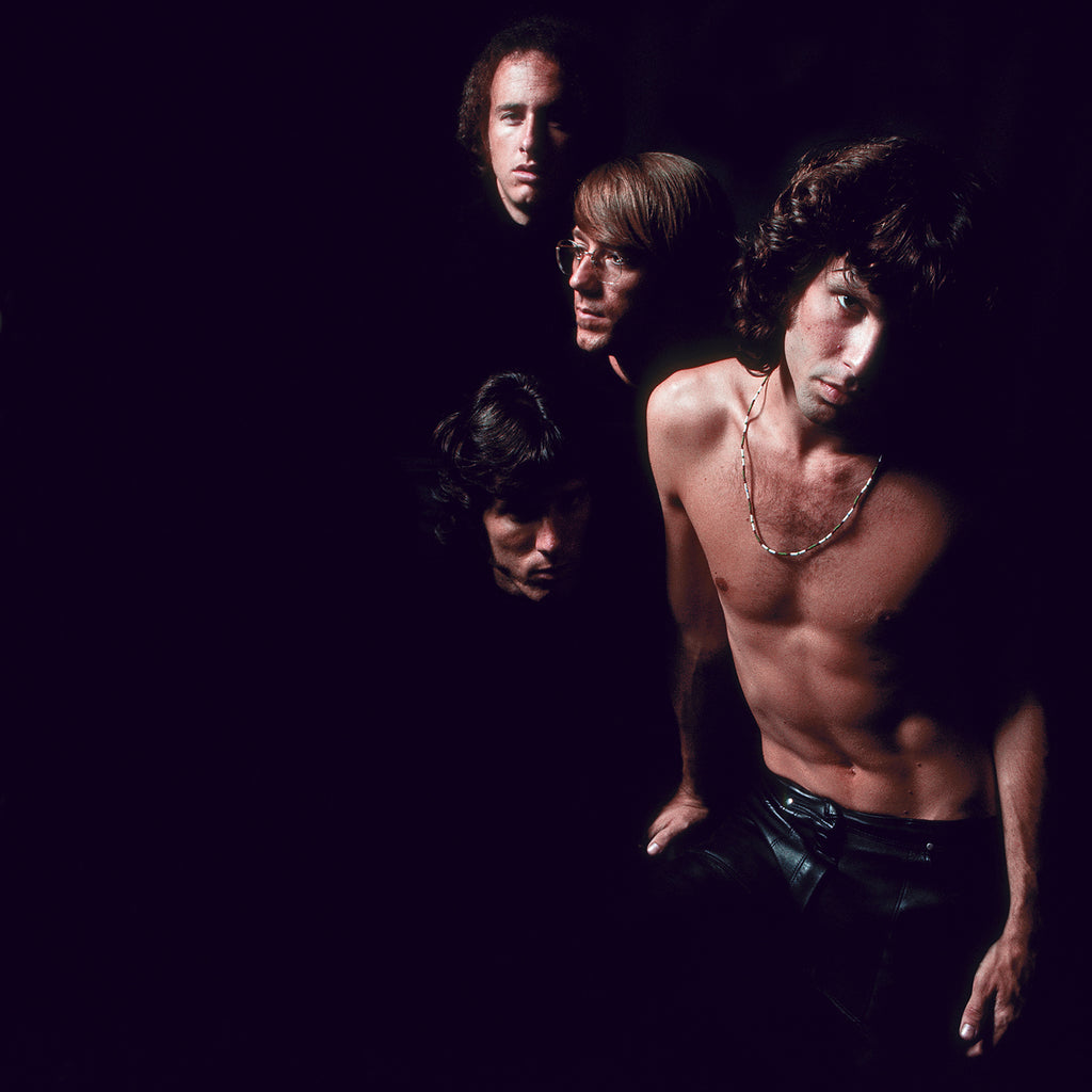 "The Doors, ""The Doors on Black"" New York City, 1967 by Joel Brodsky"