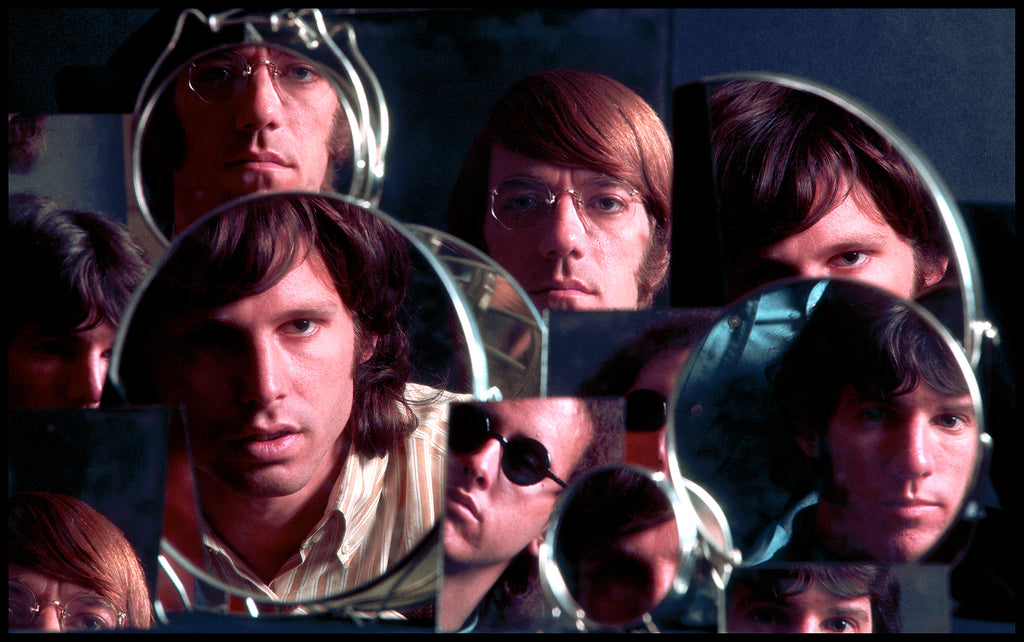 "The Doors, ""The Doors in Mirrors"" New York City, 1967 by Joel Brodsky"