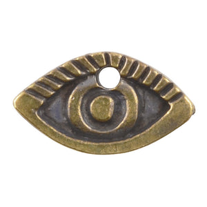 Casting Charm-11x20mm Eye-Antique Bronze