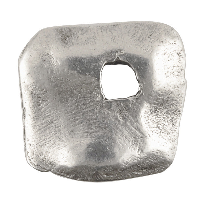 Casting Charm-12x14mm Abstract Square-Antique Silver