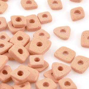 Ceramic Beads-5mm Abstract-Blush