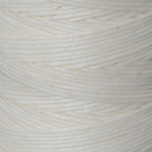Supplies-3-Ply Waxed Irish Linen-White