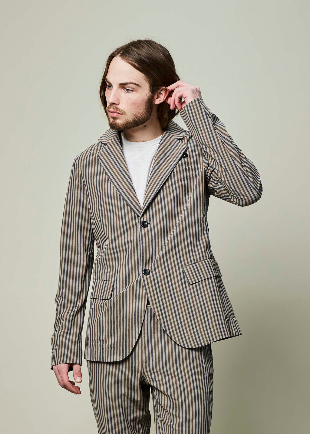 Striped Bendik Blazer