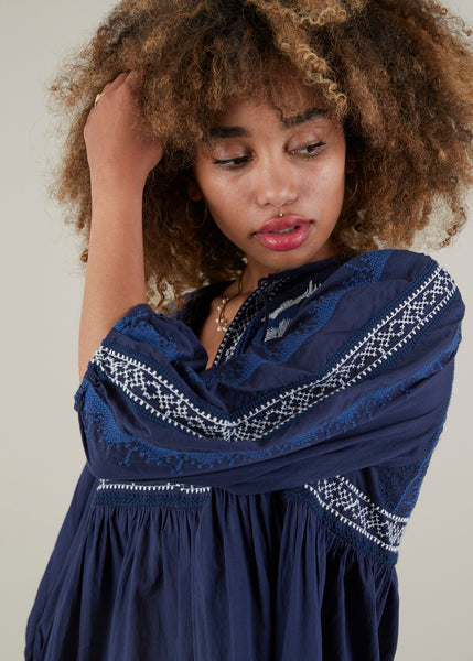 Tropea Embroidered Top