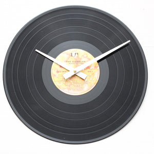 "Kenny Rogers<br>The Gambler<br>12"" Vinyl Clock"