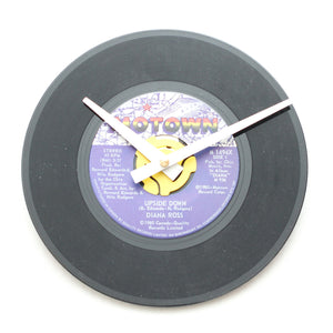 "Diana Ross<br>Upside Down<br>7"" Vinyl Clock"