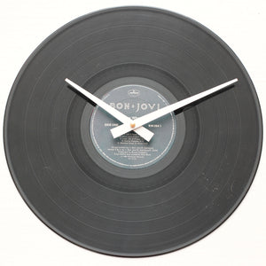 "Bon Jovi <br>Slippery When Wet <br>12"" Vinyl Clock"