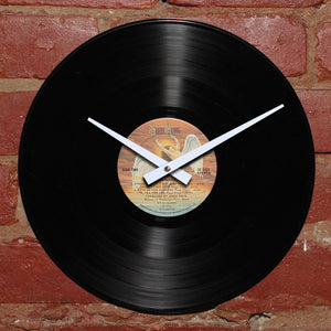 Led Zeppelin - Presence - Handmade Vinyl Record Clock Using Original LP
