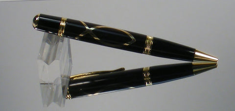 Christian Fish twist pen - Fine Wood Pens