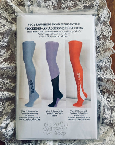 Laughing Moon #202 Stockings Pattern