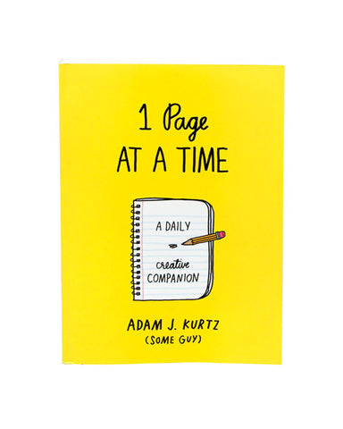 1 Page At A Time: A Daily Creative Companion Book