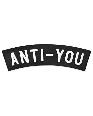 Anti-You Large Back Patch