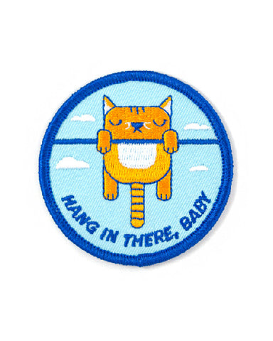 Hang In There, Baby Cat Patch