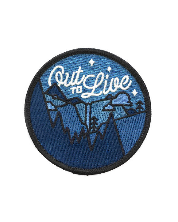 Out To Live Patch (Glow-in-the-Dark)-Asilda Store-Strange Ways