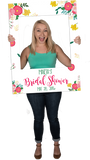 Floral Custom Photo Prop Large / FAST , CrowdSigns - 4