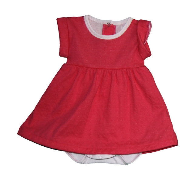 Petit Bateau Short Sleeve Bodysuit Dress