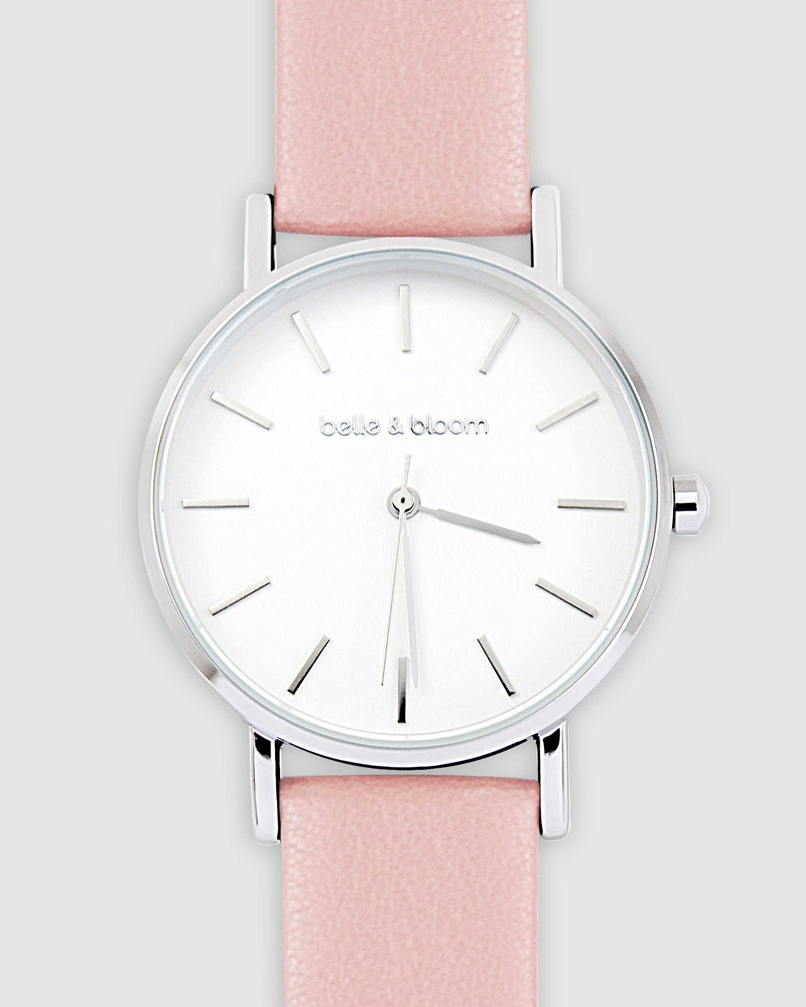 Lafayette Love Classic Watch - Silver / Mahogany Rose