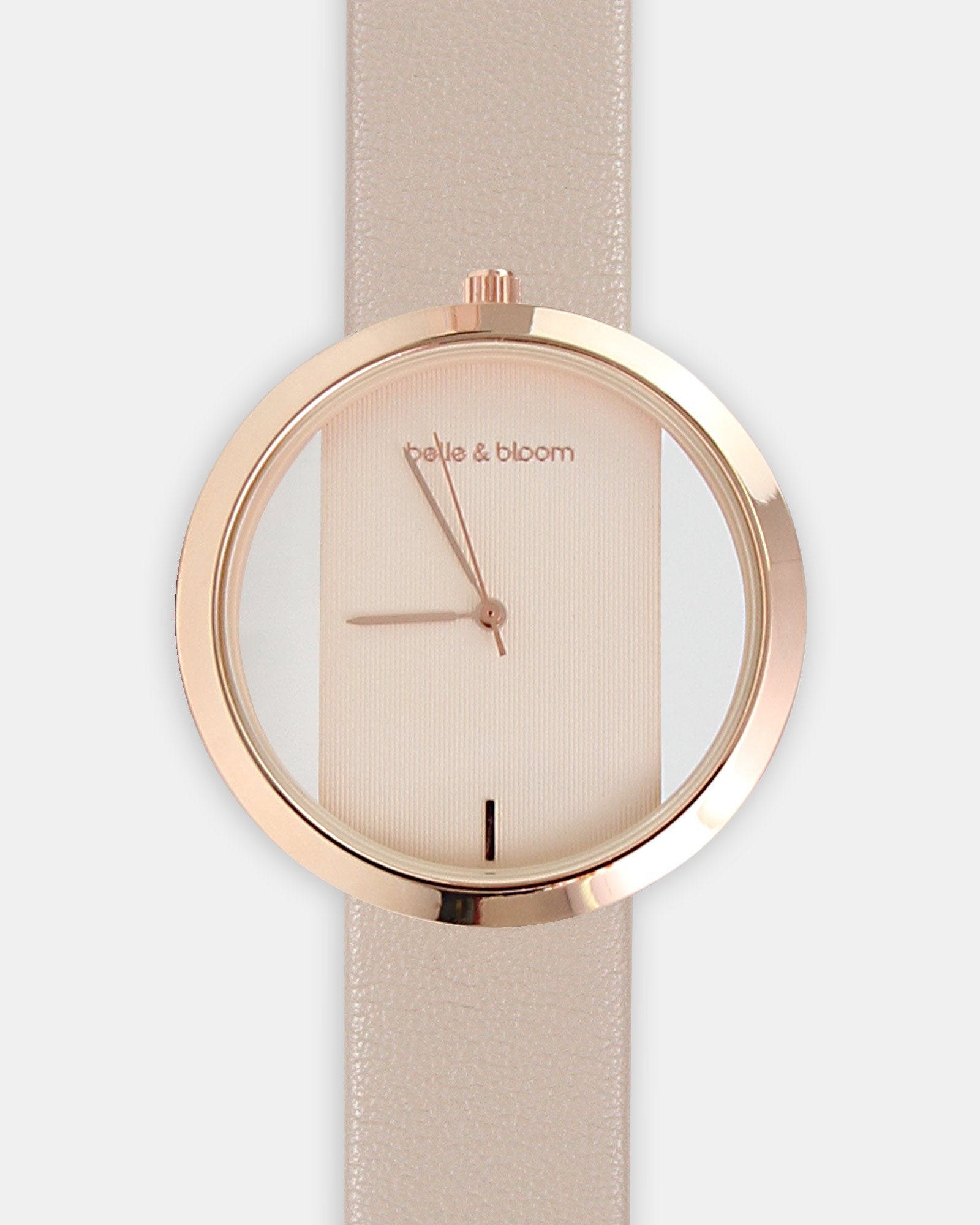 Barcelona Story Watch - Rose Gold / Cream