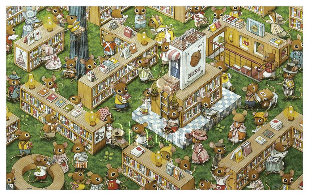 The Bookstore 1000 pieces Jigsaw Puzzle