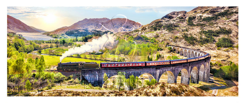 1000 pieces - The Jacobite Steam Train, Scotland