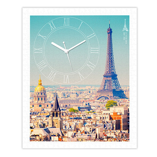 500 pieces - Paris with Love Puzzle Clock