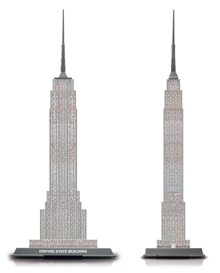 3D Empire State Building Puzzle (Pintoo)