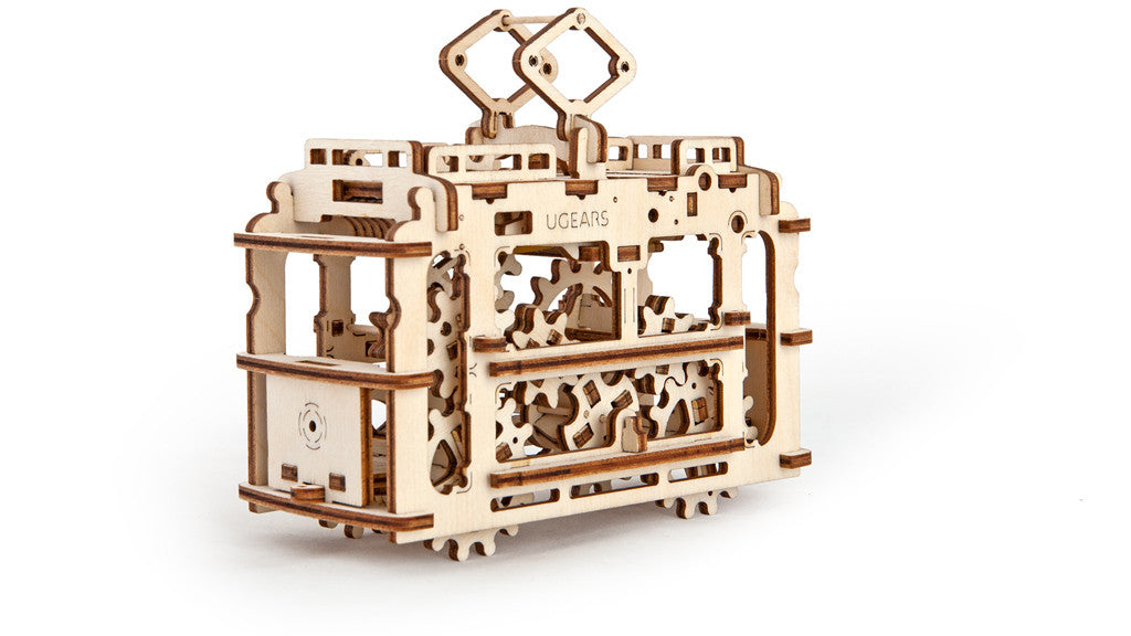Ugears Tram with Rails