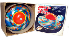 Flying Saucer KO Japan Jupiter Tin Toy