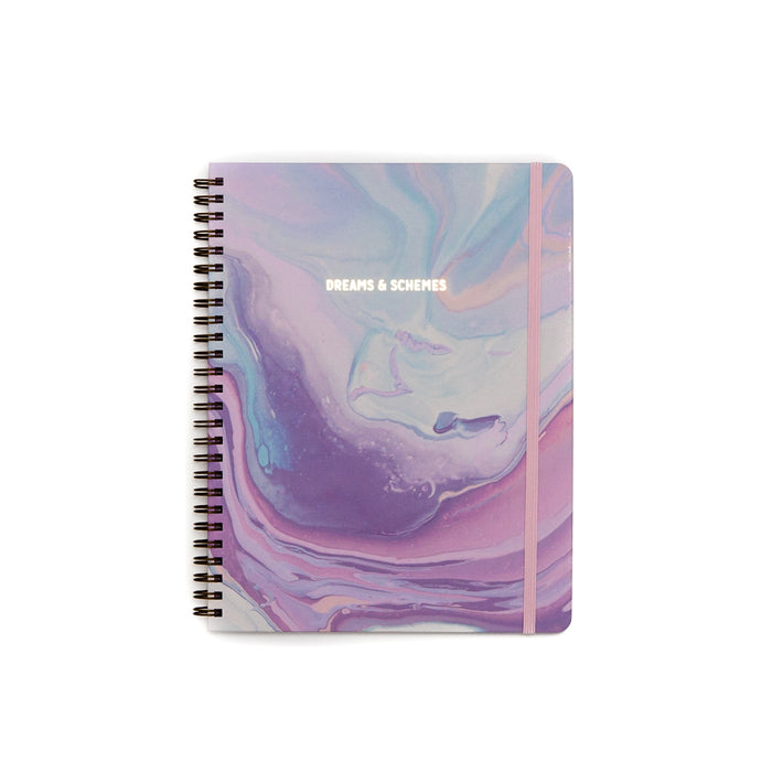 Dreams & Schemes Spiral Hardcover Notebook