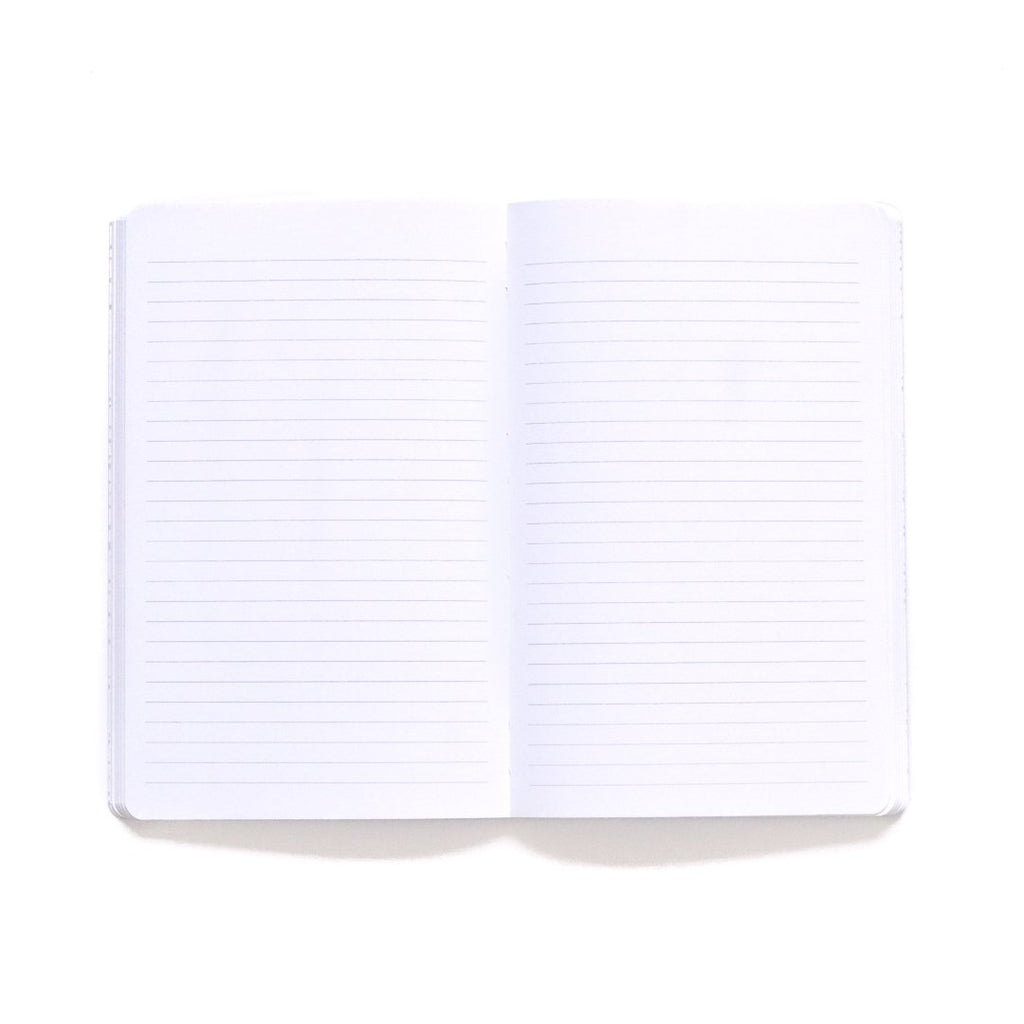Home Softcover Notebook lined page spread