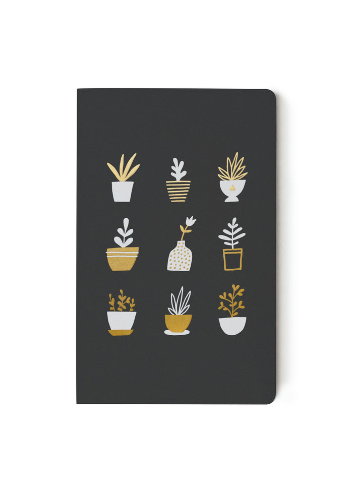 Gold Plants Notebook