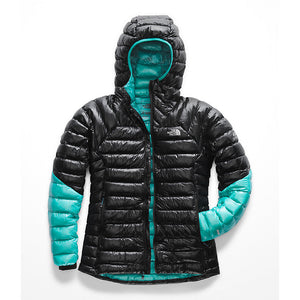 The North Face - W Summit L3 Down Hoody, Bluebird/Black