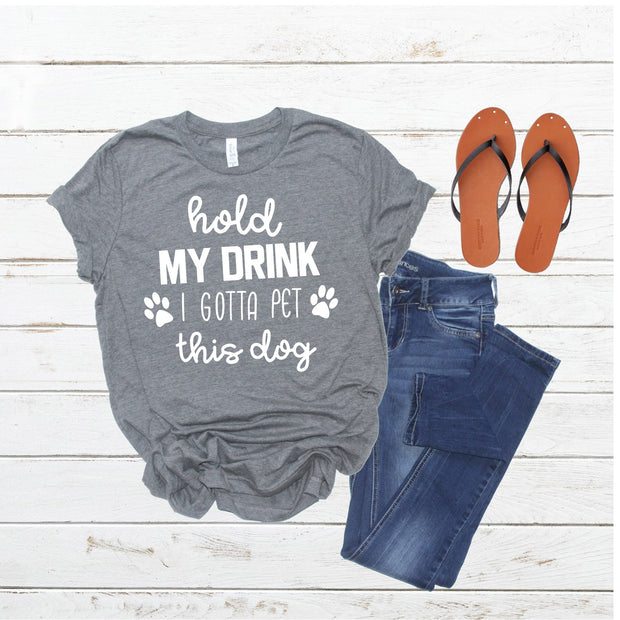 Hold My Drink Unisex Tee