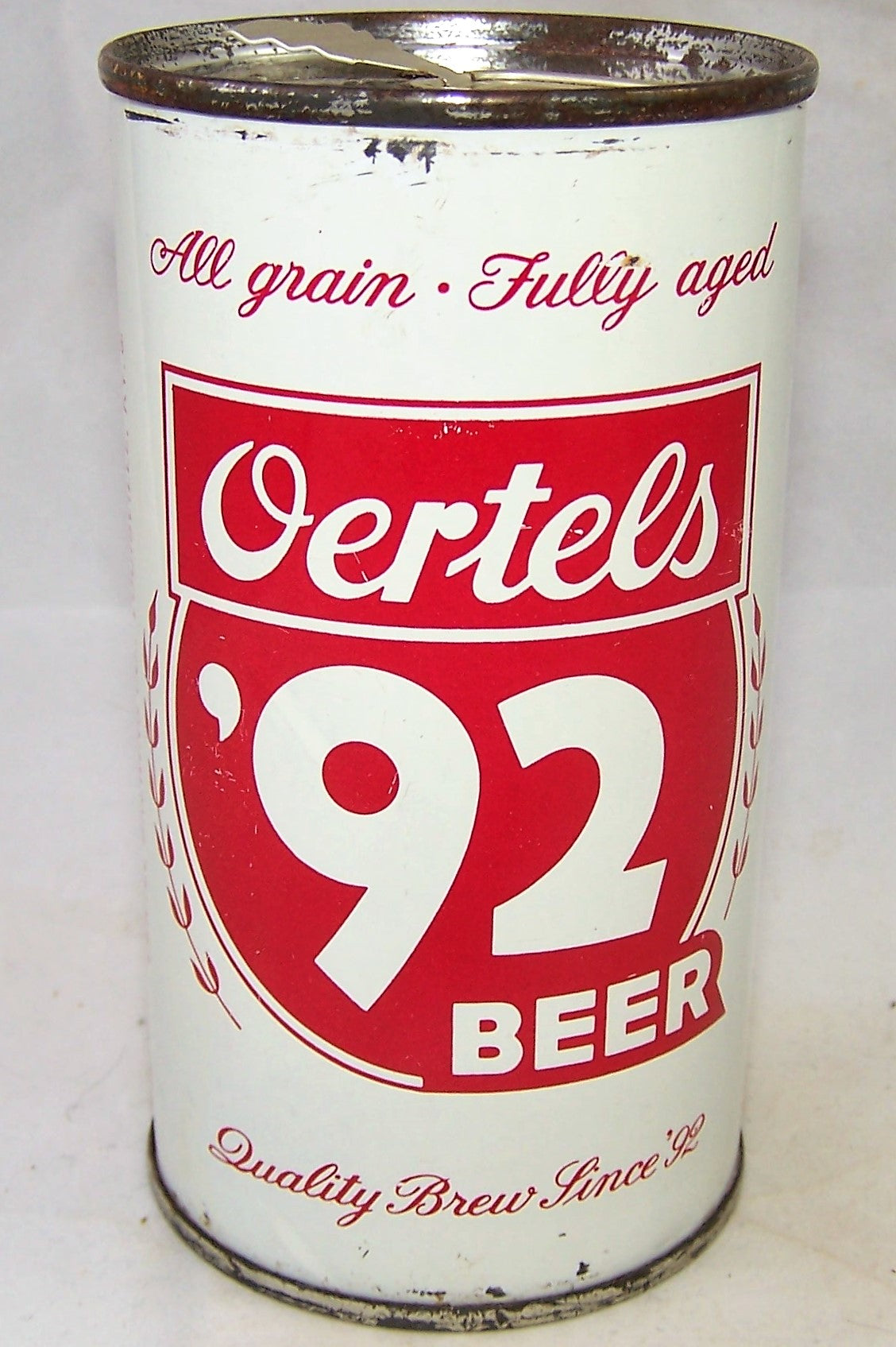 "Oertels 92 Beer ""Cheerful Refreshment"" USBC II 98-39, Grade 1"
