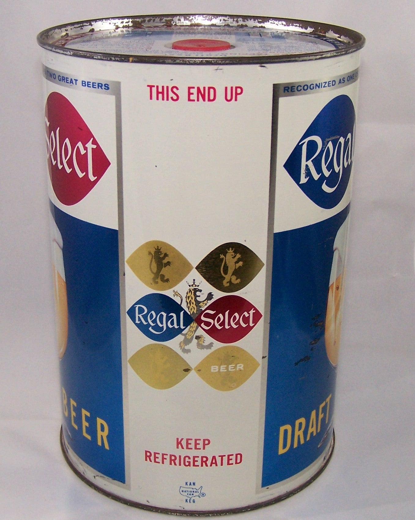 Regal Select Draft Beer, USBC 246-5, Grade 1 to 1/1+ Sold on 01/04/16