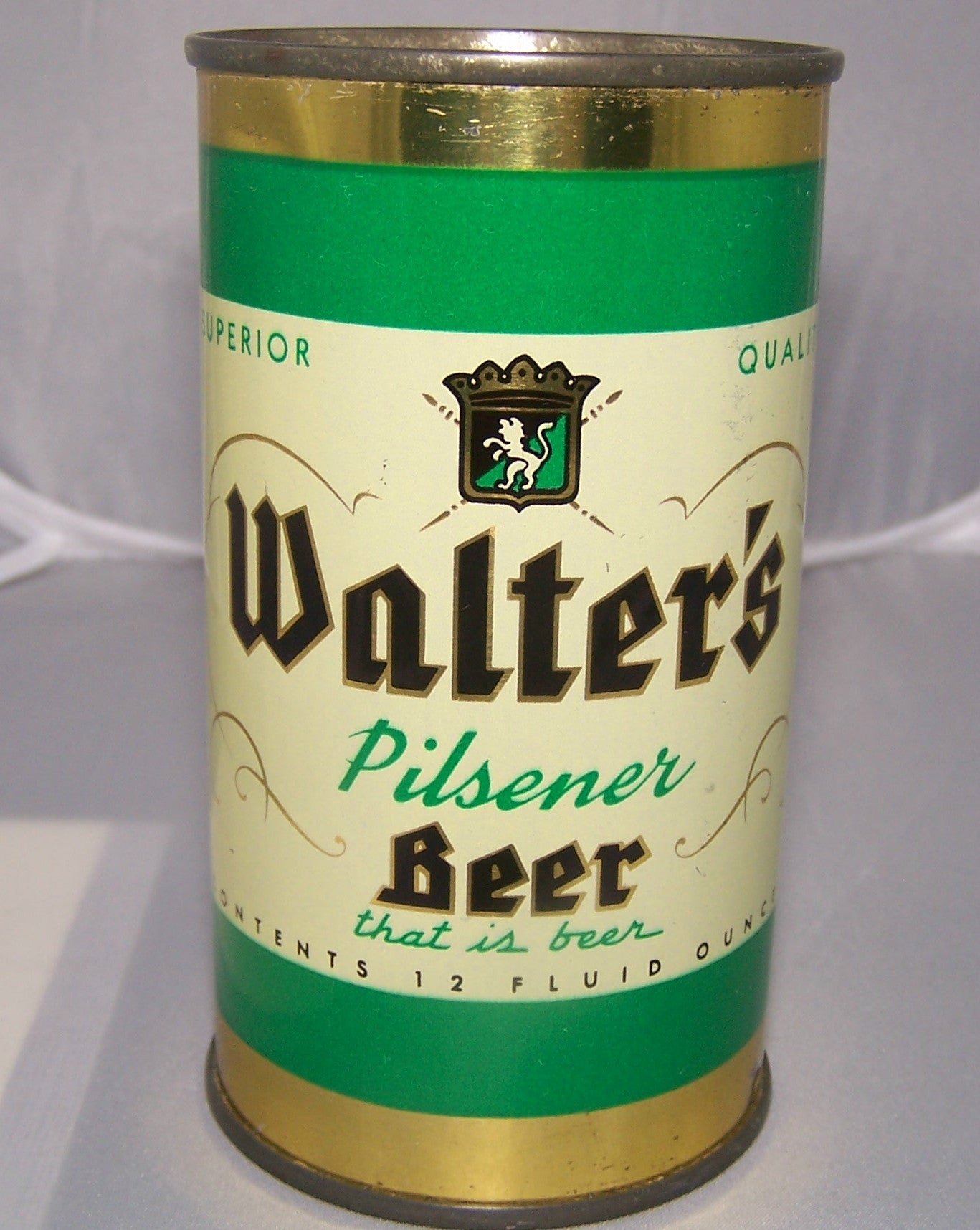 Walter's Pilsener Beer, USBC 144-21, Grade 1/1+ Sold on 2/22/15