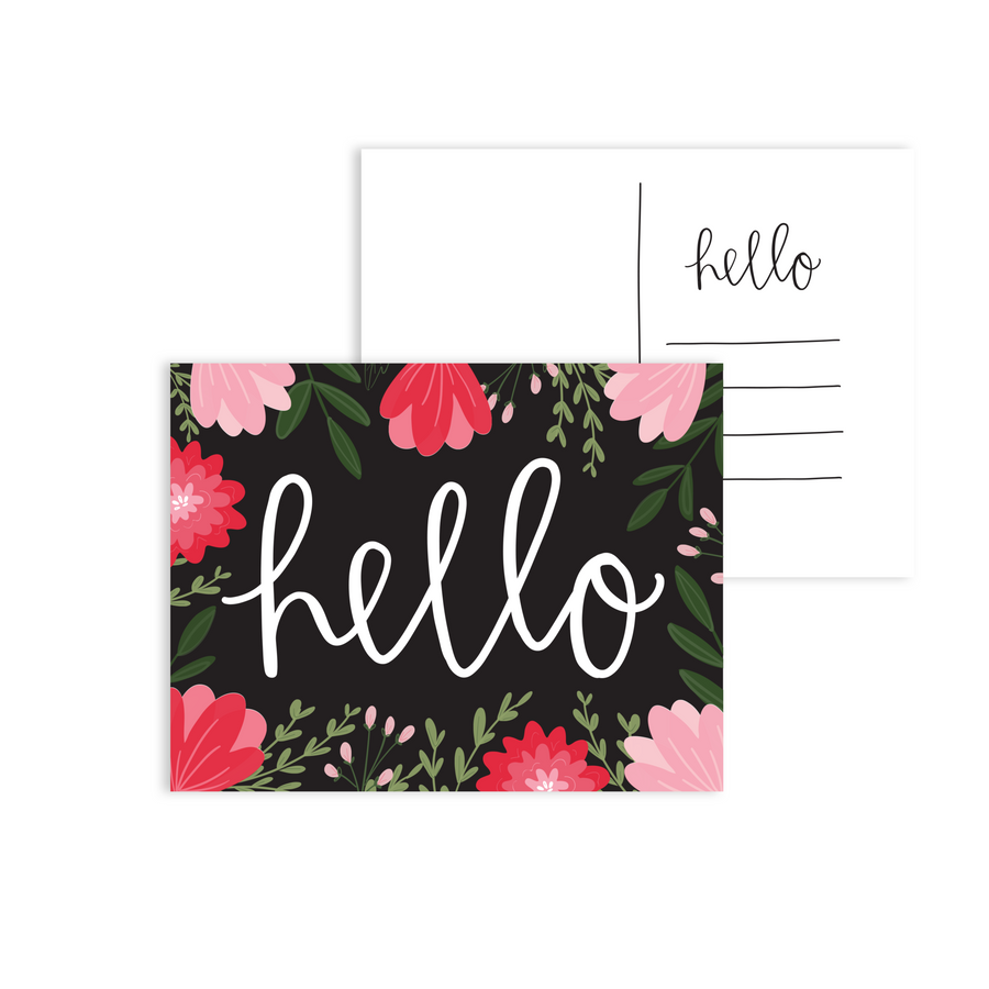 Hello Postcards - Pack of 5