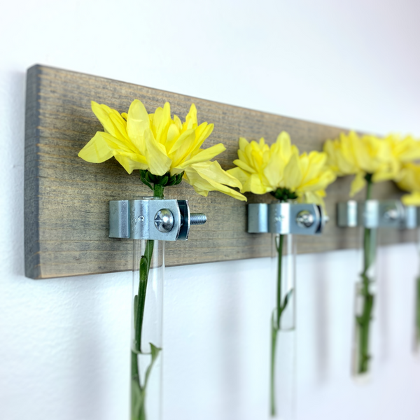 Modern Farmhouse Test Tube Wall Vase