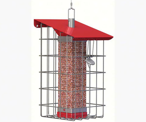Nuttery Tall Caged Feeder