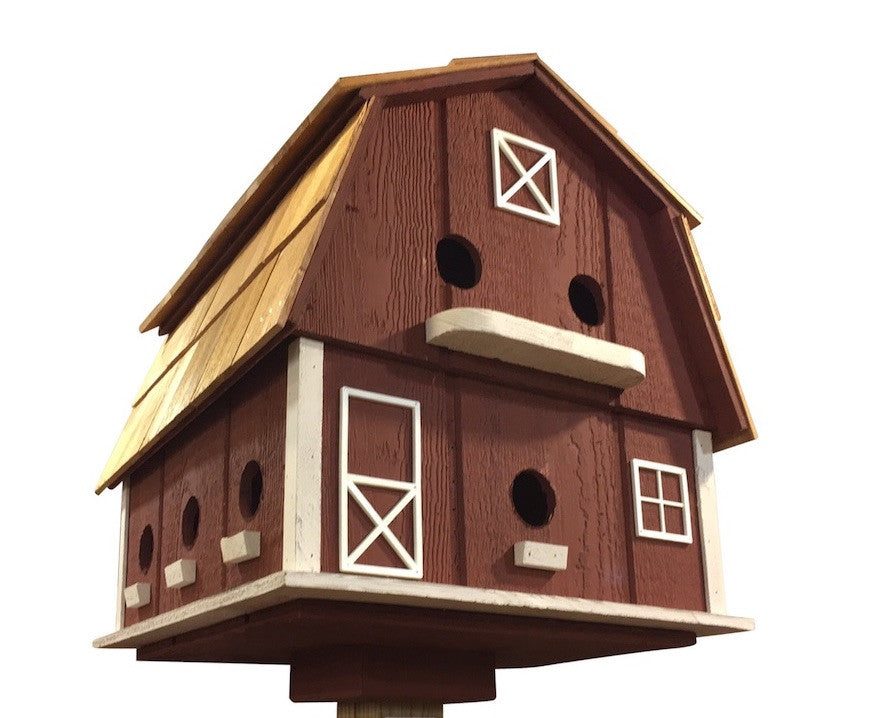 Purple Martin Barn Birdhouse