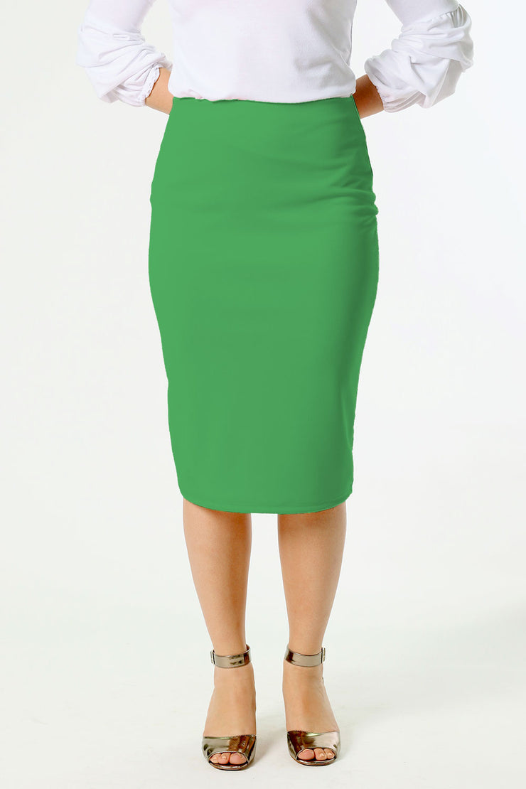 'Riley' Kelly Green Skirt