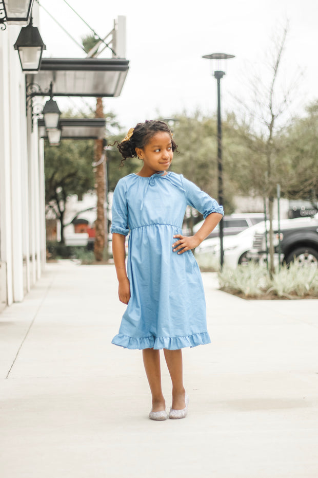 'Briley' Chambray Dress