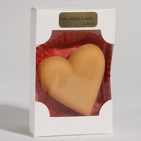 Pure Maple Candy - Heart