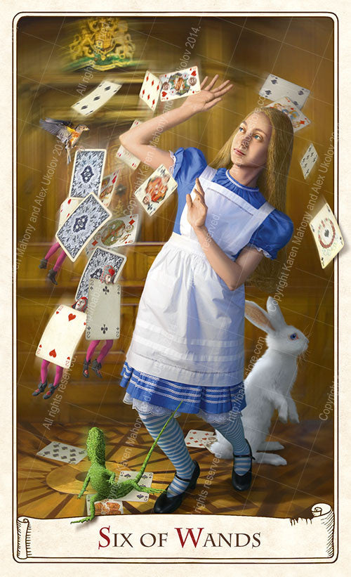 The Alice Tarot Limited Edition deck — Large format, limited to 500 only - Baba Store - 14