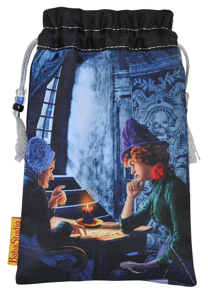 The Tarot Reader — limited edition drawstring bag. PRE-ORDER