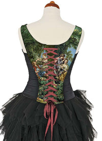 Baroque Swing, with black stretch silk - Baba Store - 4