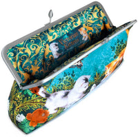 Victorian Kittens, 10 inch size clutch in dupion - Baba Store - 2