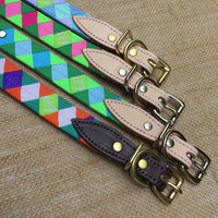 Boy O Boy Bridleworks Custom Dog Collar with Buckle Detail