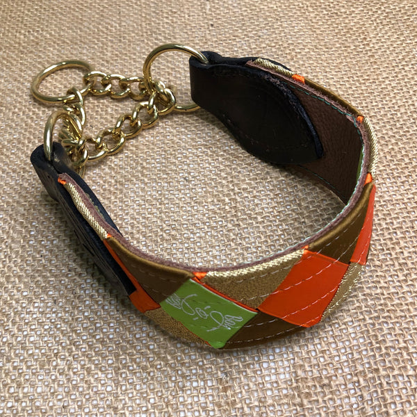 Boy O Boy Bridleworks Custom Dog Collar with Buckle